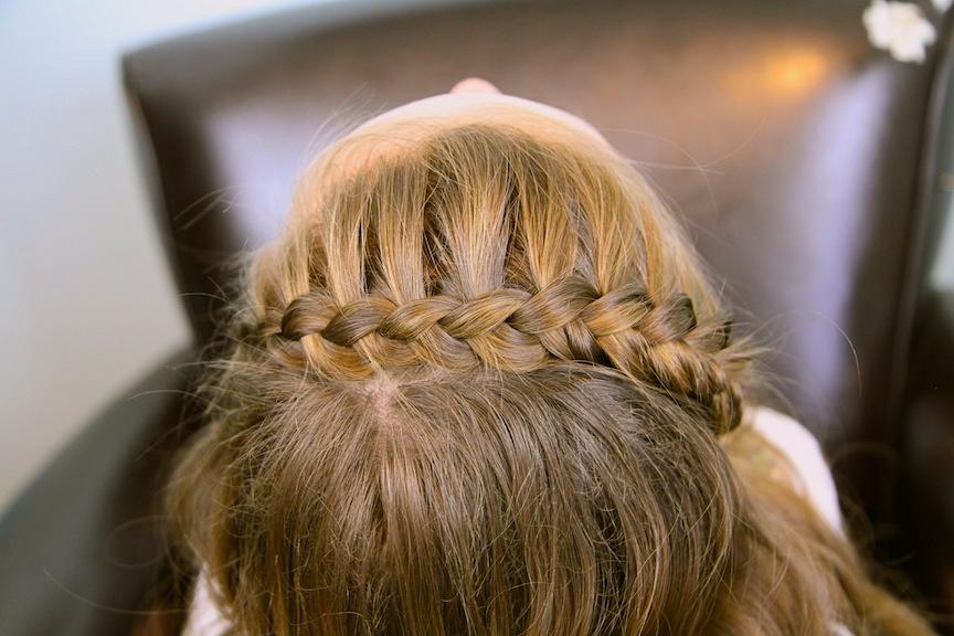 womenstyles: Dutch Lace Braided Headband | Braid Hairstyles