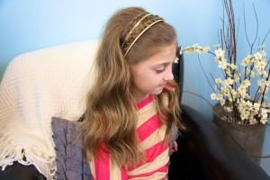 Double Braided Sparkle Headband | Braid Hairstyles