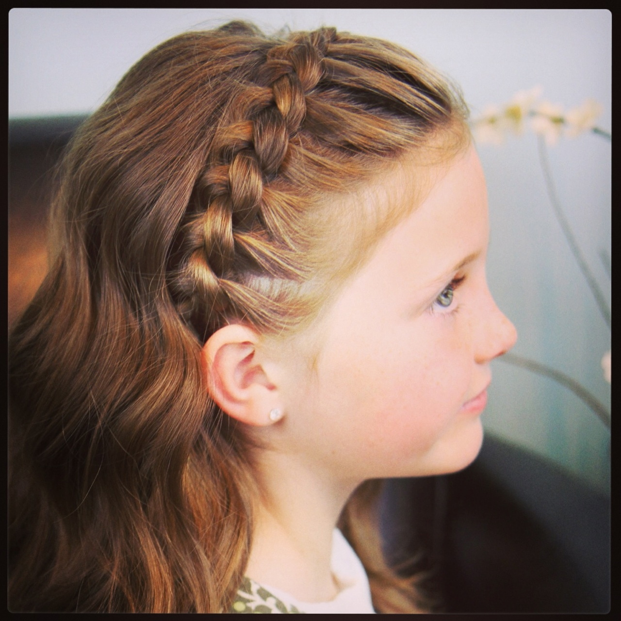 Cute Girl Hairstyle Braid Headband