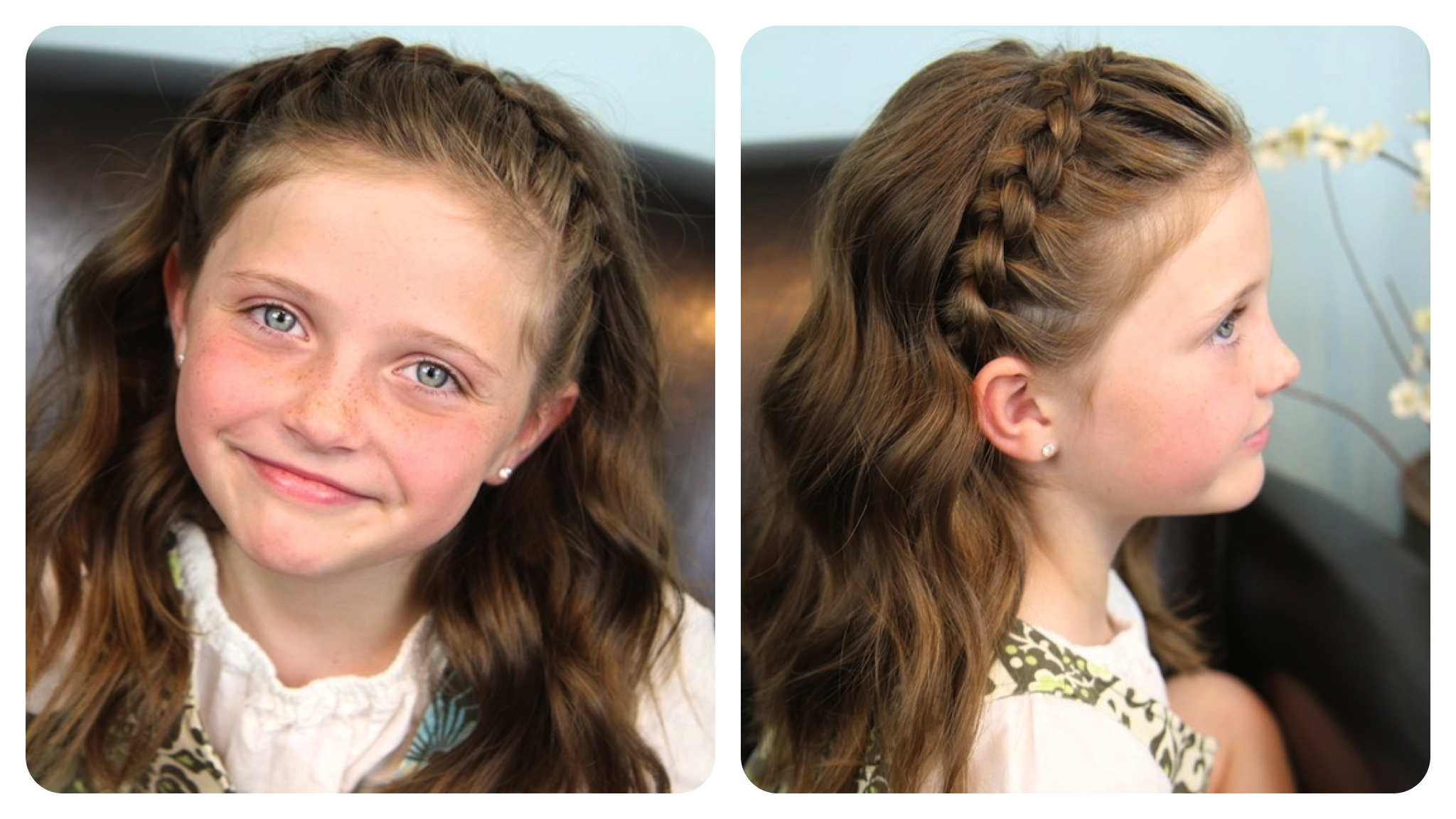 Dutch Lace Braided Headband Braid Hairstyles Cute Girls