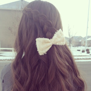 Pancake Lace Braid | Long Hairstyles