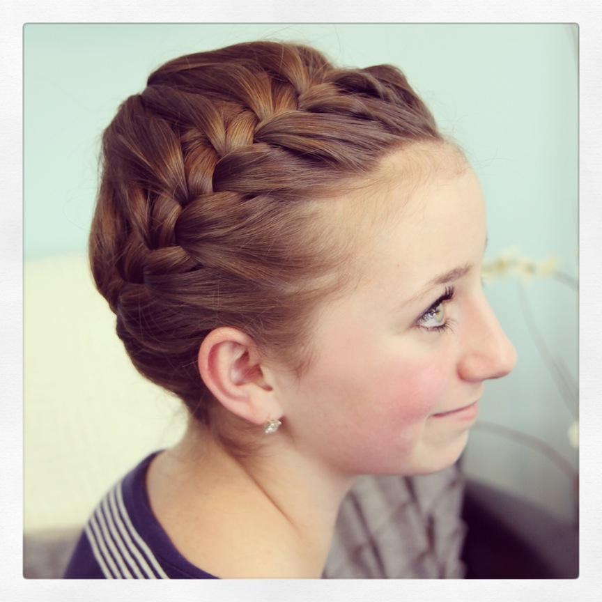 Cool Starburst Crown Braid Updo Hairstyles Cute Girls Hairstyles Schematic Wiring Diagrams Phreekkolirunnerswayorg