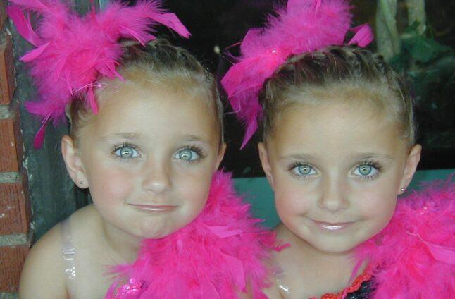 Dance Hairstyles   Brooklyn and Bailey McKnight