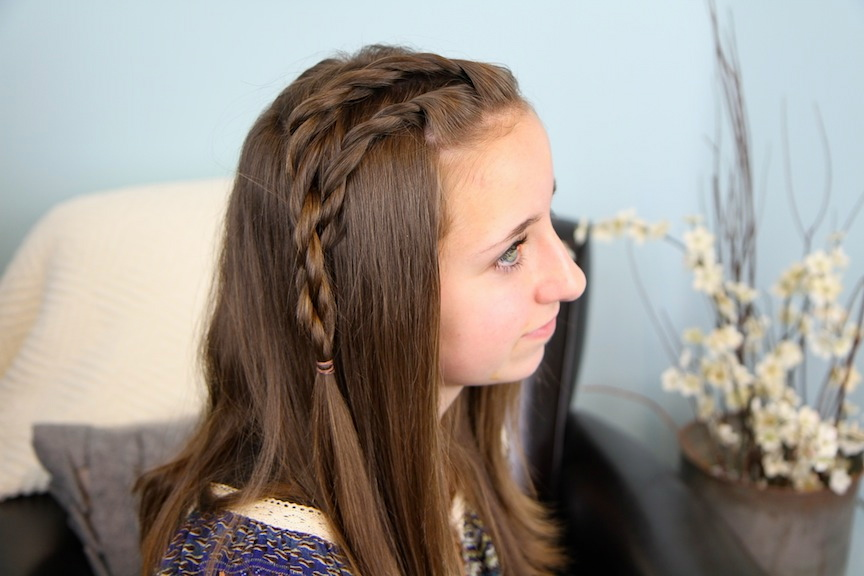 Bailey's Double Lace Twists | 3-Minute Hairstyles