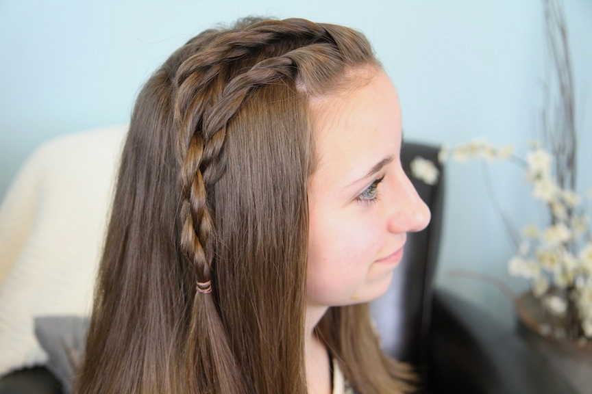 Bailey's Double Lace Twists | 3-Minute Hairstyles | Cute Girls ...