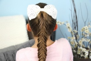 Reverse Fishtail Braid | Cute Braided Hairstyles