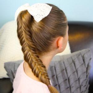 Reverse Fishtail Braid | Cute Braided Hairstyles