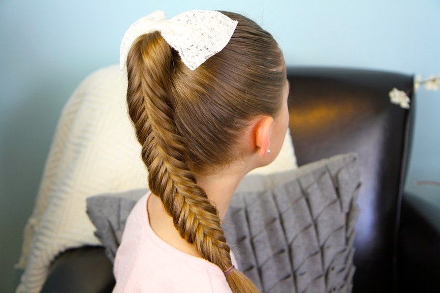 Reverse Fishtail Braid   Cute Braided Hairstyles