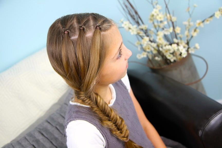 Corner Flip Under Accents | Cute Hairstyles