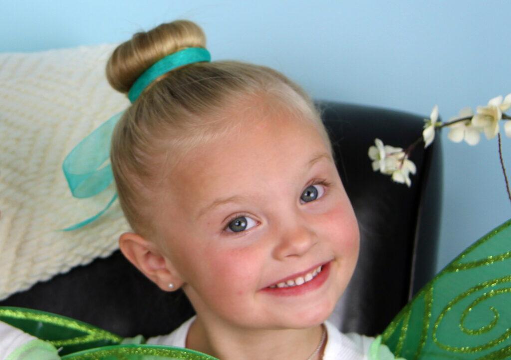 Tinker Bell Hair Bun | Disney Hairstyles