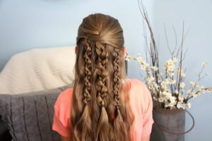 Textured Braids | Cute Hairstyle Accents