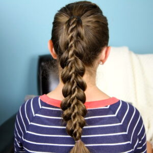 Back view of Stacked Twist | Braided Hairstyles