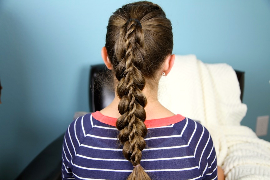 Stacked Twist | Cute Braided Hairstyles