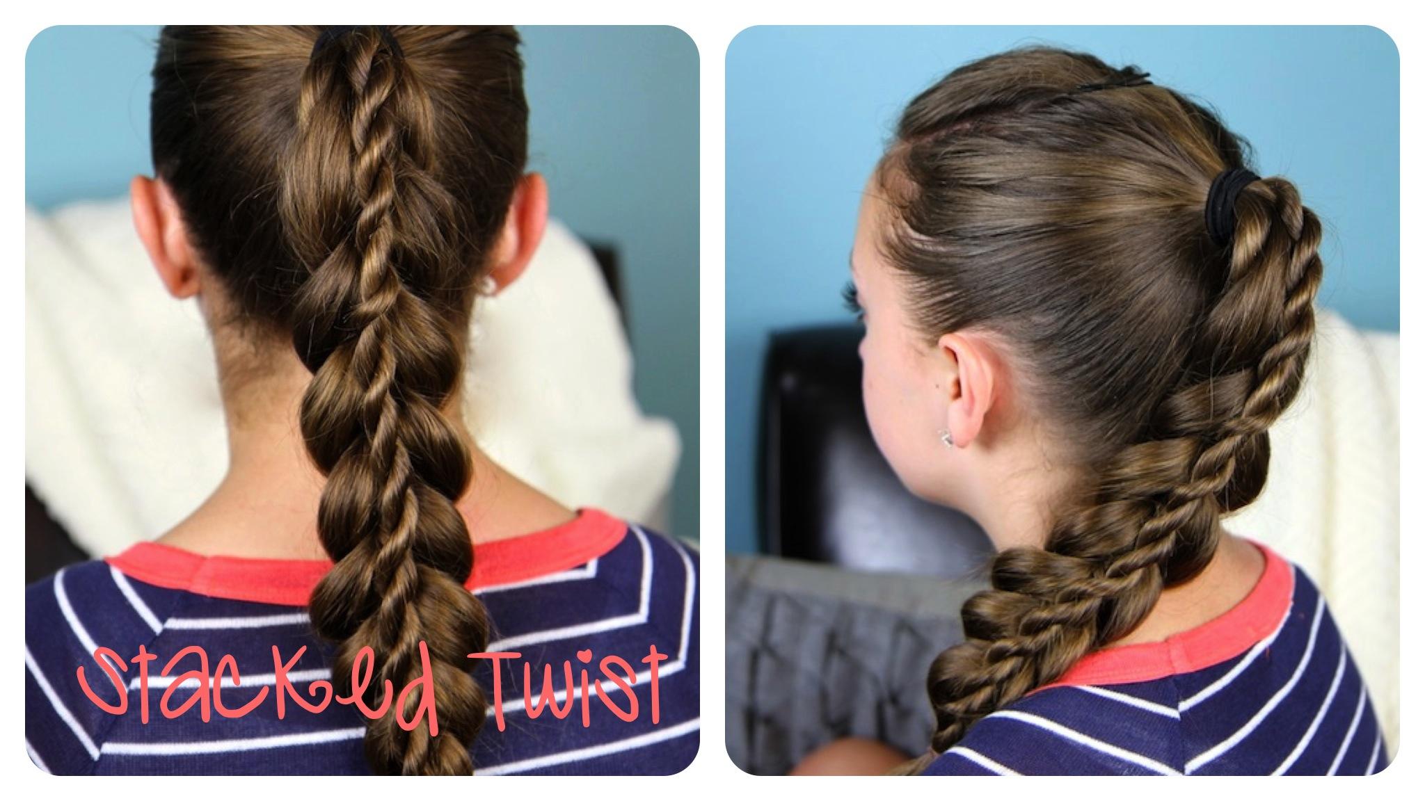 Stacked Twist | Simple Braid and Rope Braid