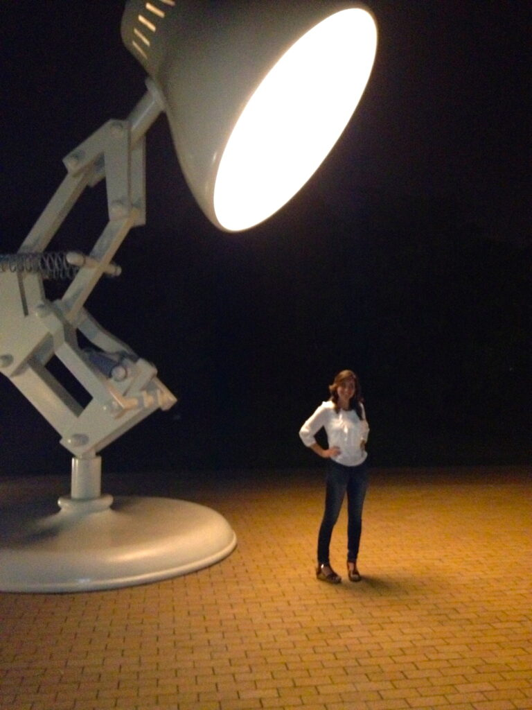 The Pixar Studios Lamp