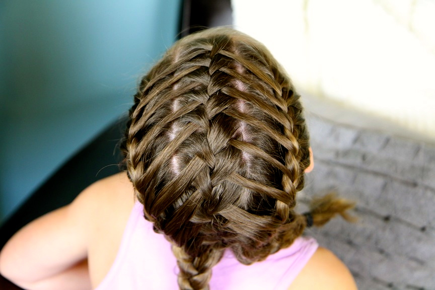 Waterfall Braids into Double Frenchbacks | Sport Hairstyles