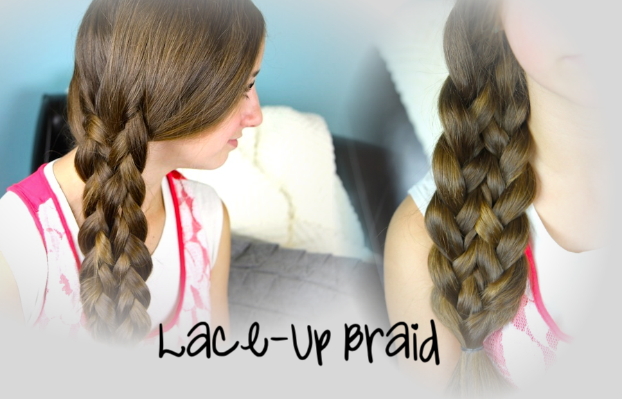 Lace,Up Braid