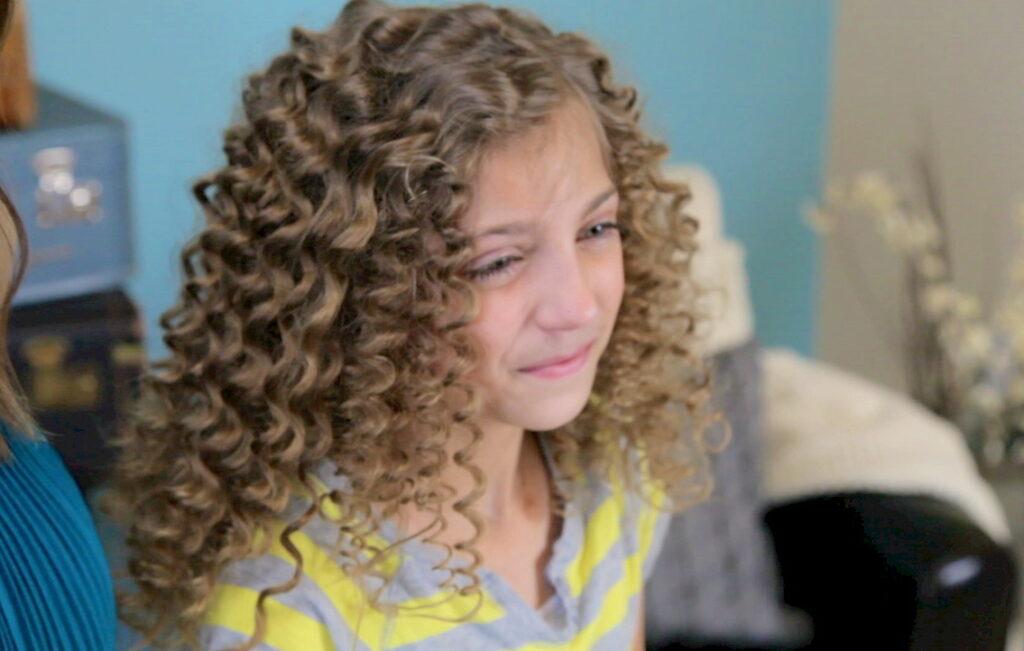 No-Heat Straw Curls