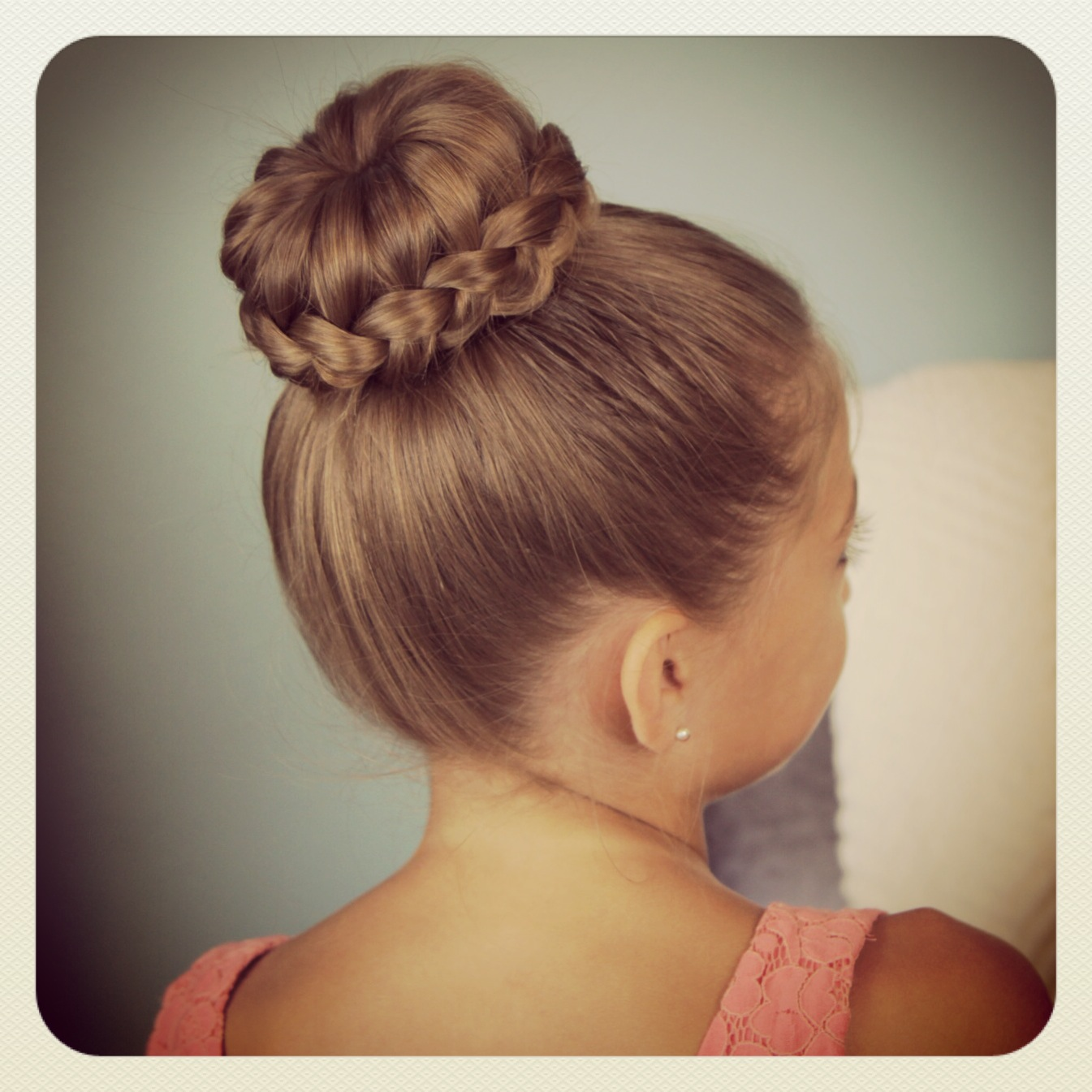 Awesome Hair Styles Braids With Bun You39ll Need Long Hair Or Long