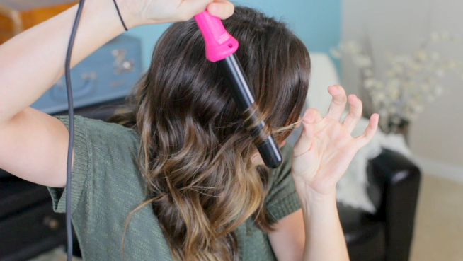 25mm NuMe Curling Wand Tutorial