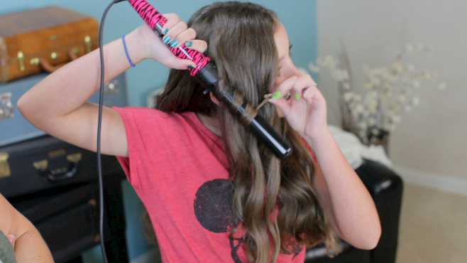 32mm NuMe Curling Wand Tutorial