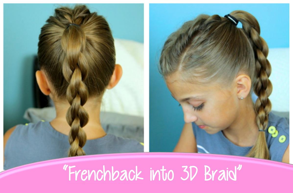 Single Frenchback into Round Braid | Back-to-School ...