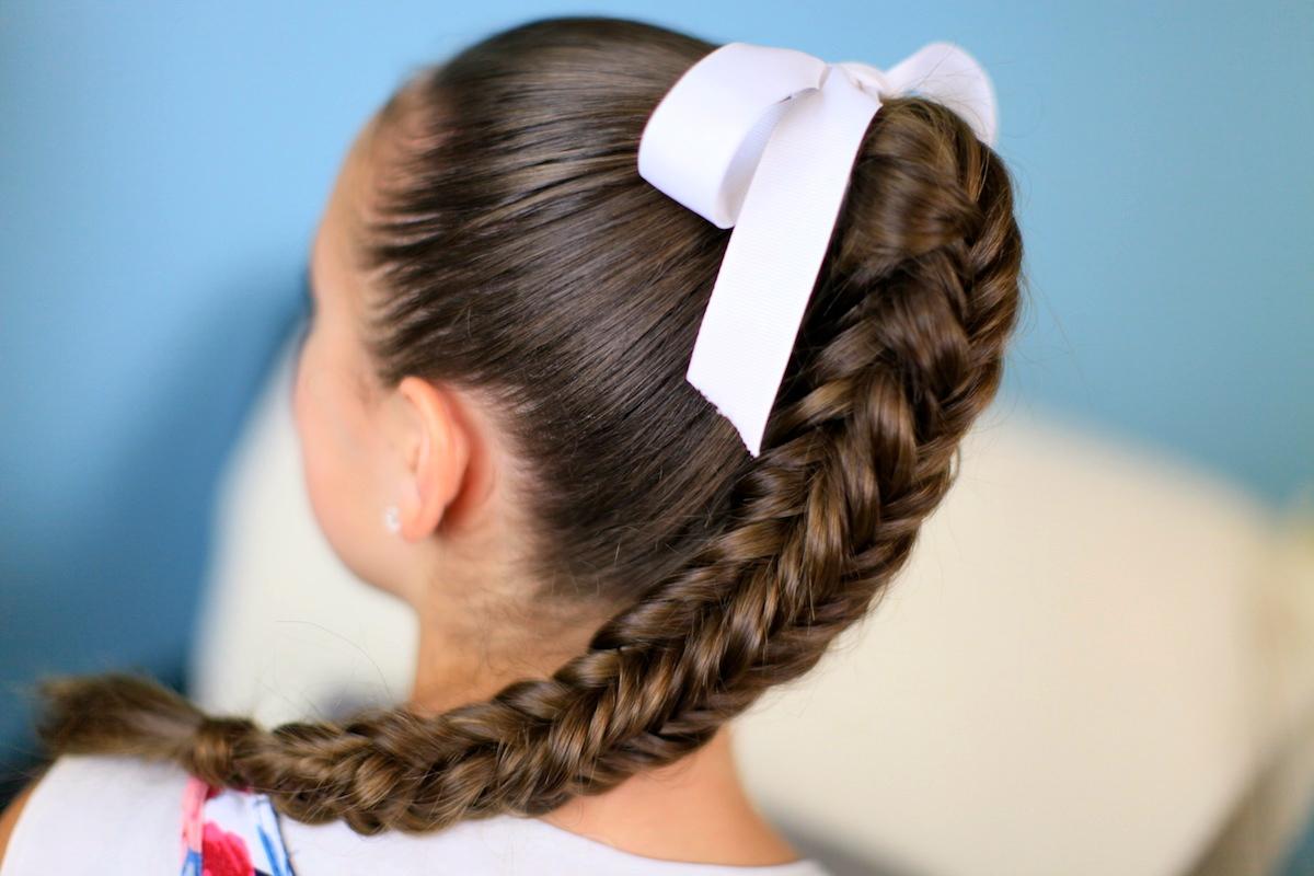 Box {4-sided} Fishtail Braid   Cute Braid Ideas - Cute Girls Hairstyles