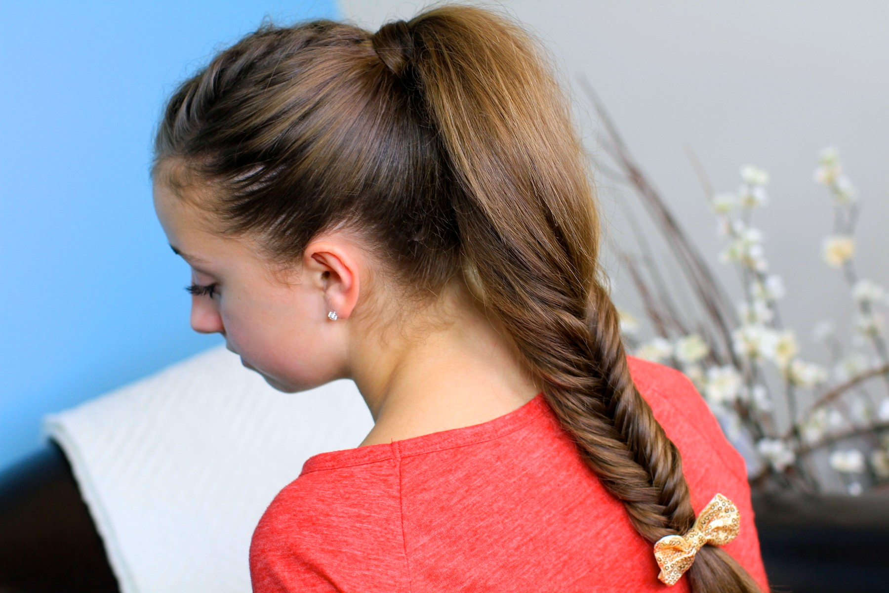 Fluffy Fishtail Braid | Cute Braids
