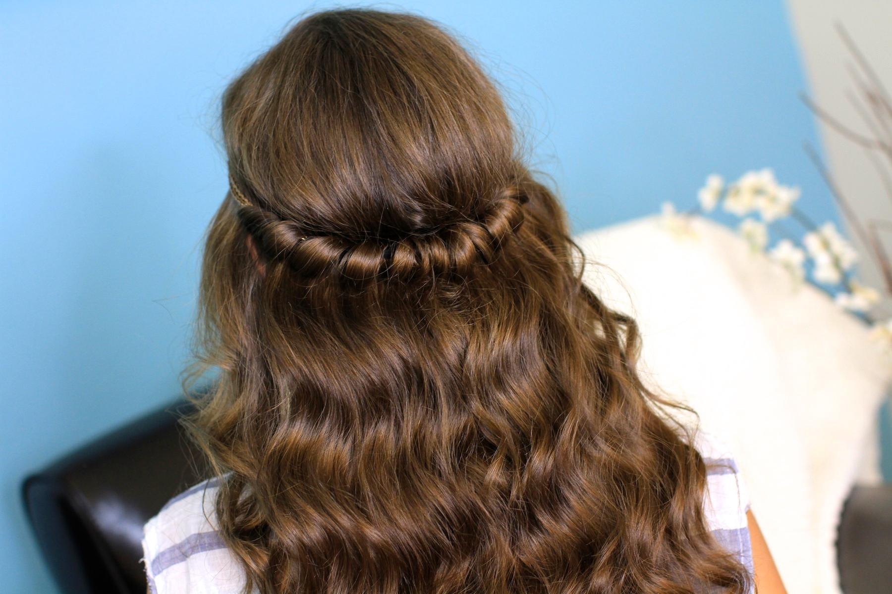 Headband Twist | Half-Up Half Down Hairstyles