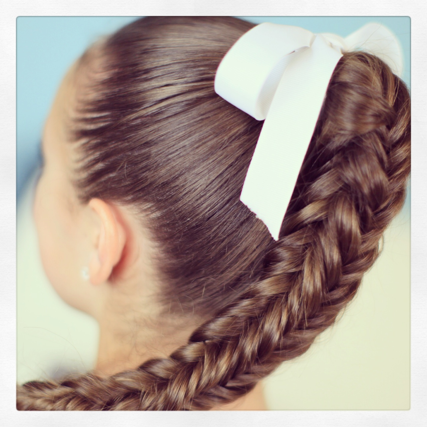 Box 4 sided fishtail braid cute braid ideas cute for Fish tail hair