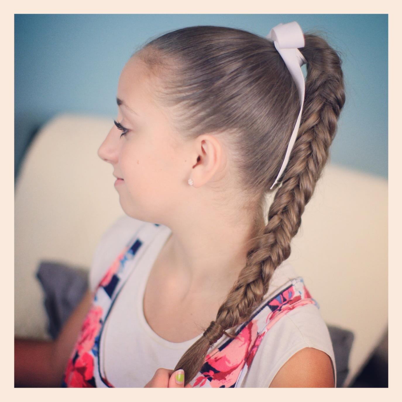Box Fishtail Braid Cute Braid Ideas Cute Girls Hairstyles