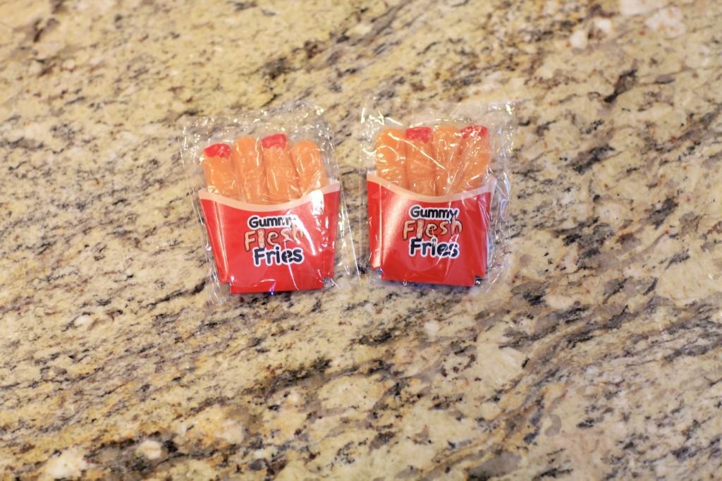 Gummy Flesh Fries