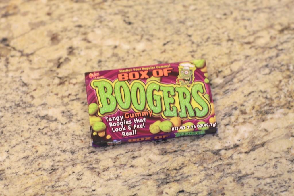 Box of Gummy Boogers