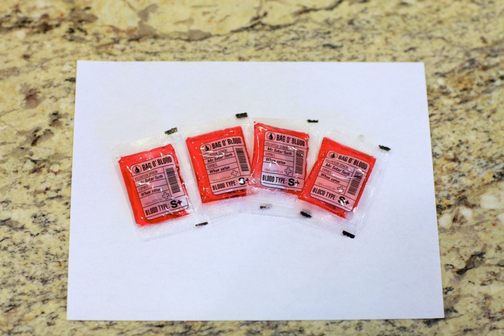 Candy Blood Packets