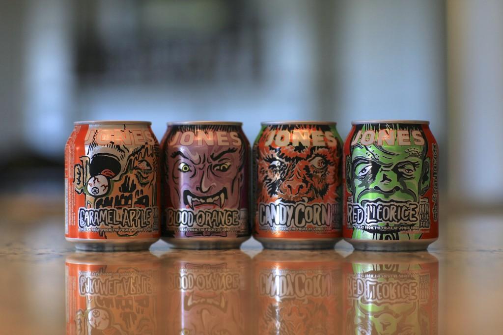 Jones Halloween Sodas