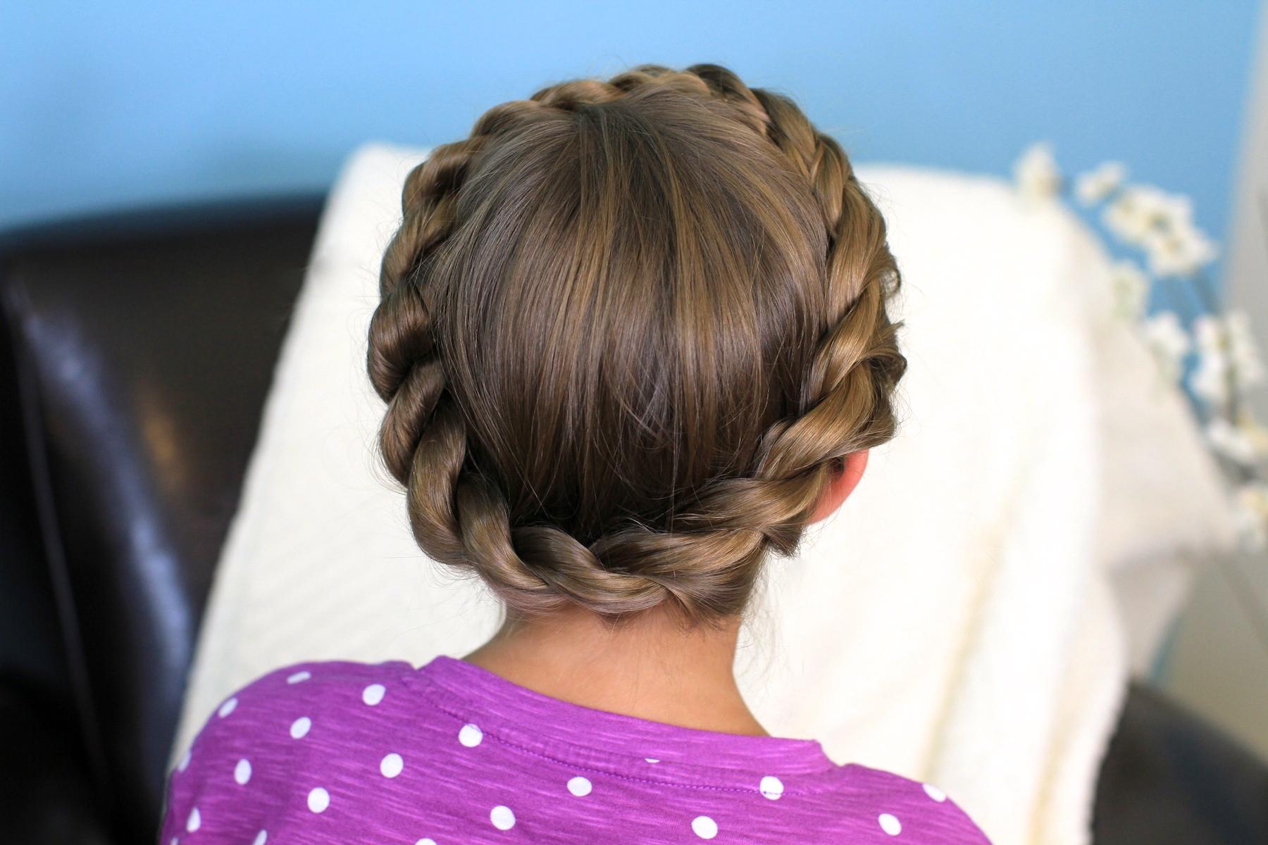 Crown Rope Twist Braid | Updo Hairstyles