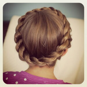 Crown Twist | Cute Updos