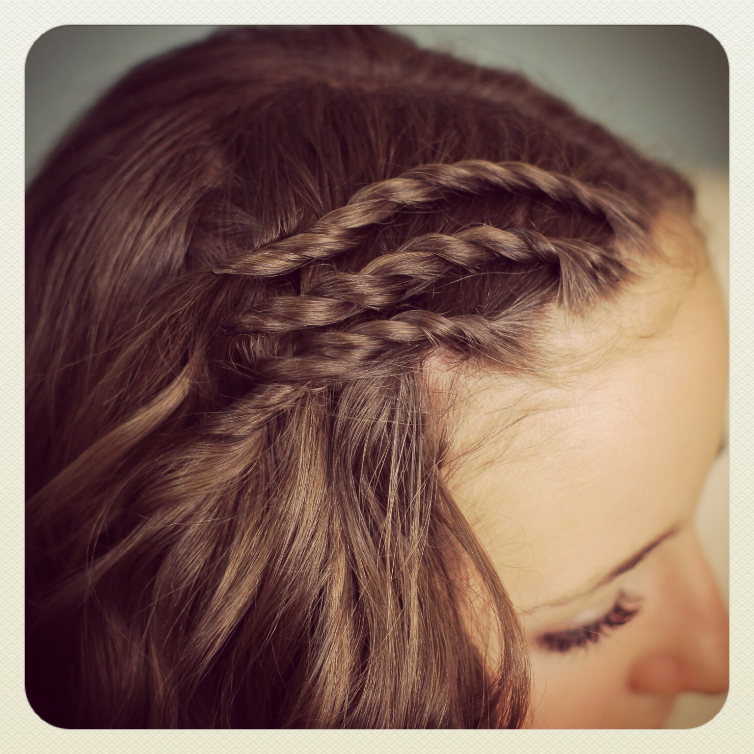 Triple Lace Side Twists And Bonus Video By Twins Cute Girls Hairstyles