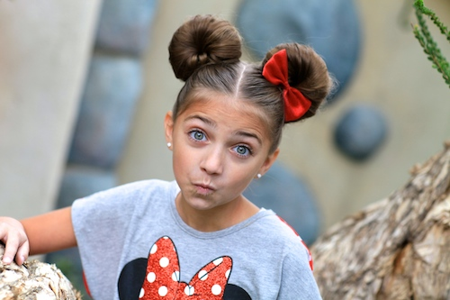 Minnie Mouse Buns | Disney Hairstyles | Cute Girls Hairstyles