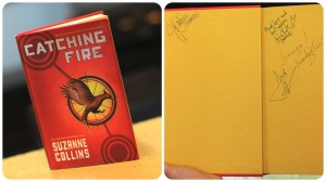 Autographed Catching Fire Book | The Hunger Games