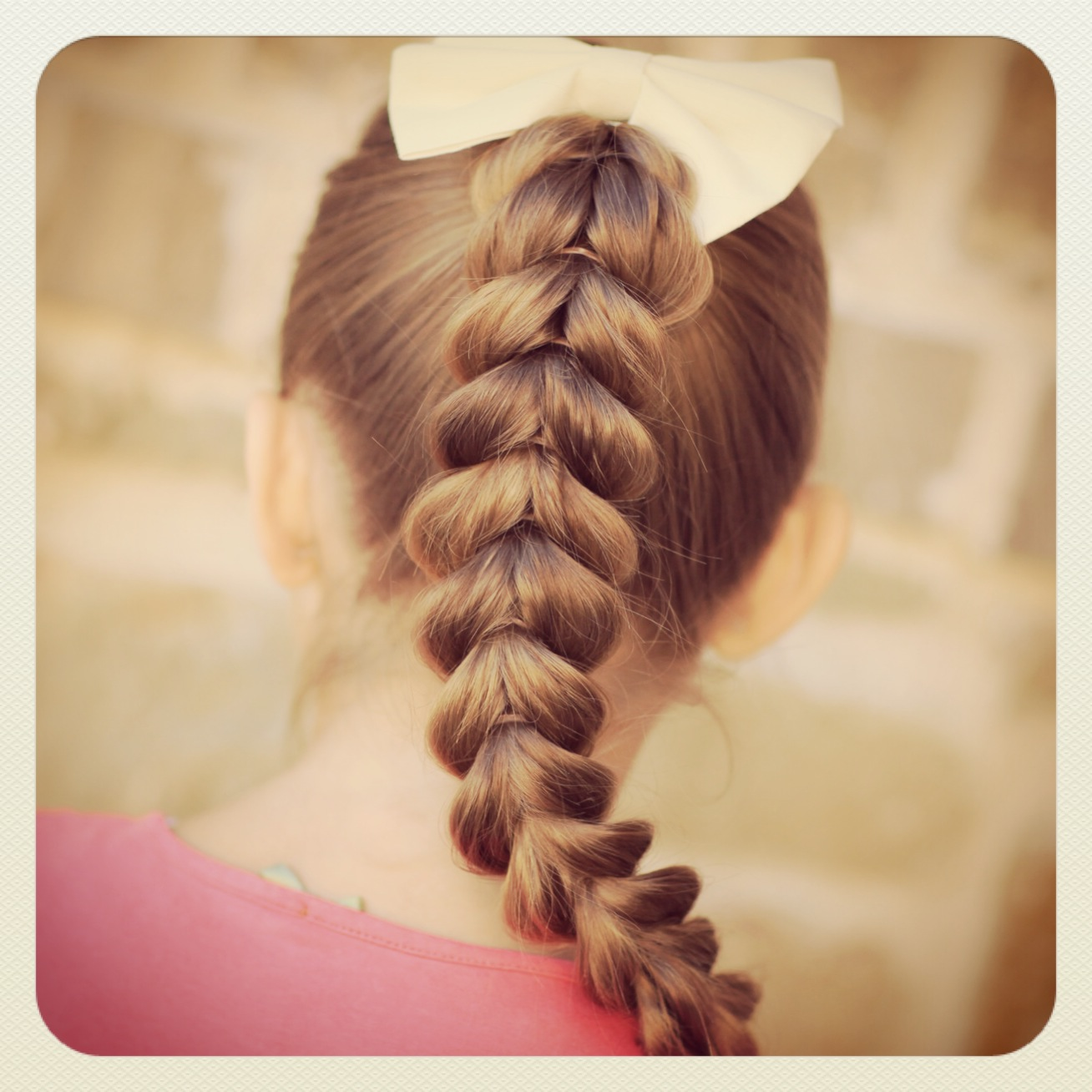 Stupendous Pull Through Braid Easy Hairstyles Cute Girls Hairstyles Natural Hairstyles Runnerswayorg