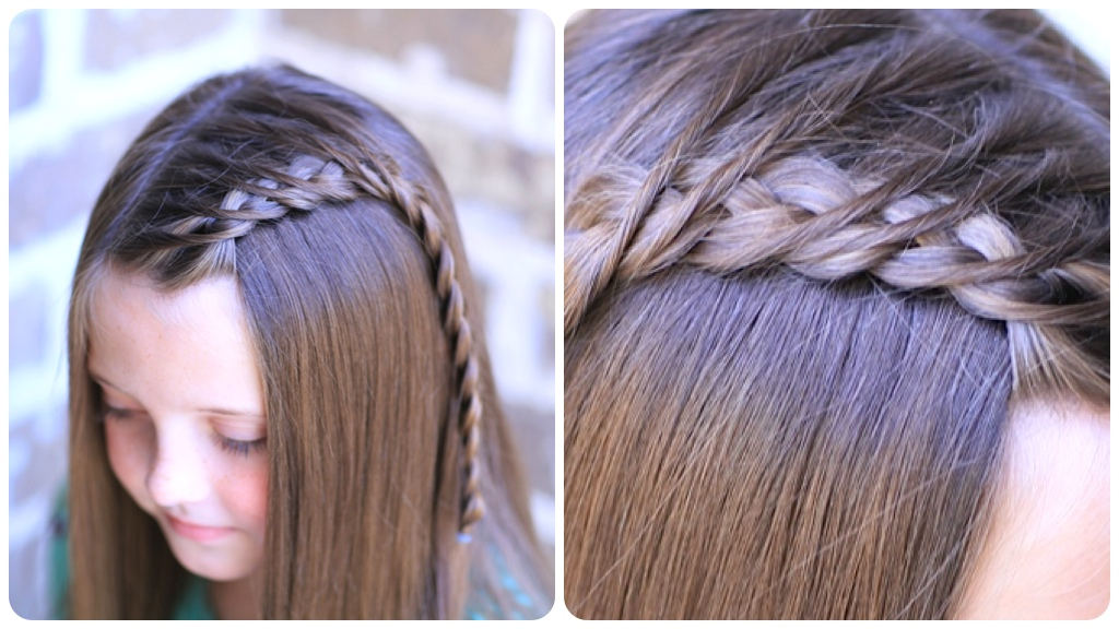Crossover Dutch Braid | Cute Girls Hairstyle