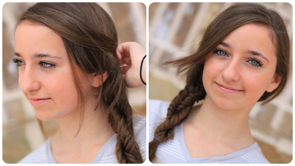 DIY Double Fishtail Twist | Braided Hairstyles
