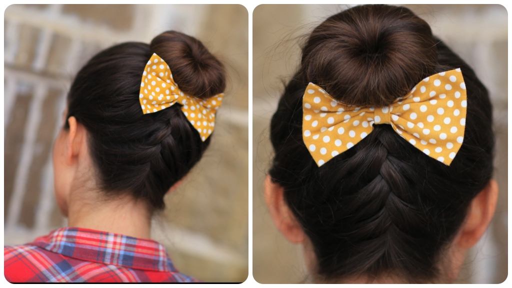 French-Up High Bun | Updo Hairstyle Ideas