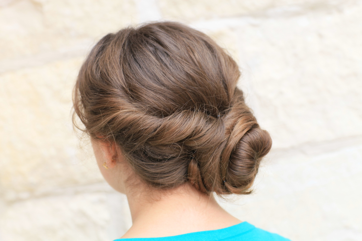 Easy Twist Updo