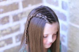 How to create a Crossover Dutch Braid