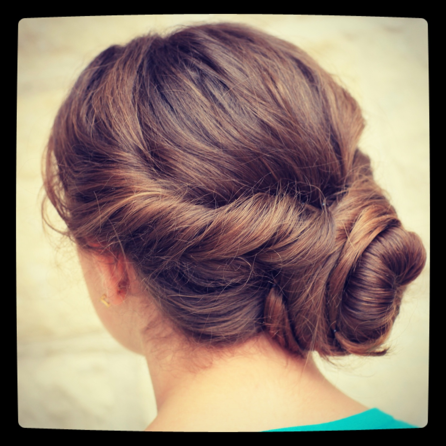 Easy Twist Updo Prom Hairstyles Cute Girls