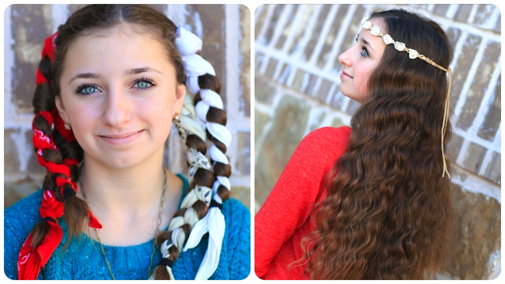 Hairstyles No Heat : Fotos - No Heat Curls Wave Hair Styles Step By Step Diy Tutorial ...