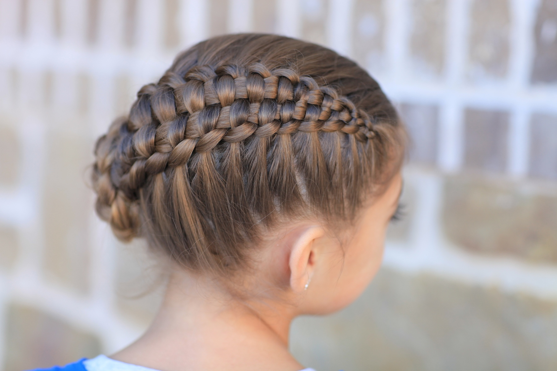 Braided Hair Styles For Little Girls: Updo Hairstyles