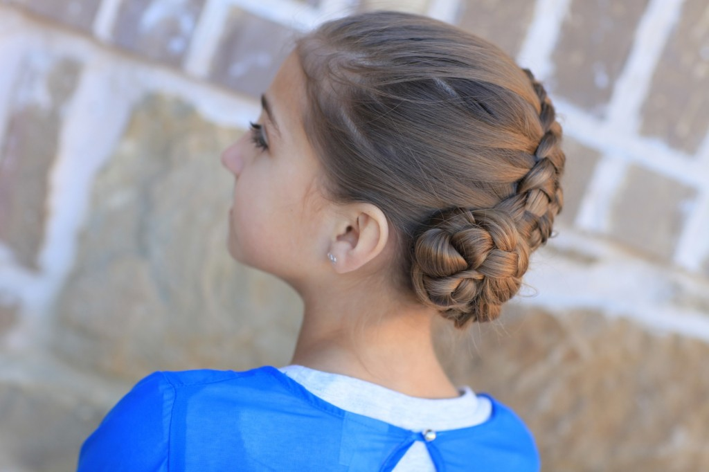 Zipper Braid | Updo Hairstyles